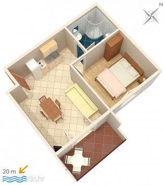 Apartment A-2637-d - Apartments Zaostrog (Makarska) - 2637