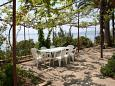 Courtyard Zaostrog (Makarska) - Accommodation 2637 - Apartments near sea with pebble beach.