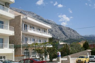 Makarska, Makarska, Property 2640 - Apartments and Rooms blizu mora with pebble beach.