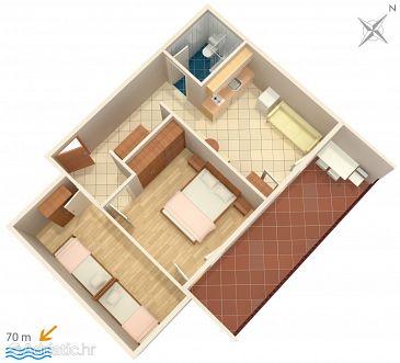 Apartment A-2649-a - Apartments Zaostrog (Makarska) - 2649