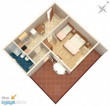 Apartment A-2649-e - Apartments Zaostrog (Makarska) - 2649