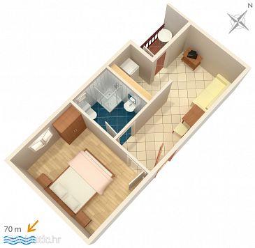 Apartment A-2649-g - Apartments Zaostrog (Makarska) - 2649