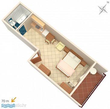 Studio flat AS-2649-b - Apartments Zaostrog (Makarska) - 2649