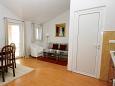 Tučepi, Living room u smještaju tipa apartment, dopusteni kucni ljubimci i WIFI.