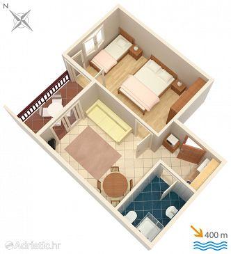Apartment A-2658-f - Apartments Tučepi (Makarska) - 2658