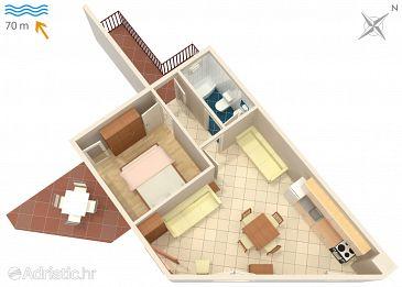 Apartment A-2659-b - Apartments Drašnice (Makarska) - 2659