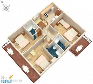 Apartment A-2659-c - Apartments Drašnice (Makarska) - 2659