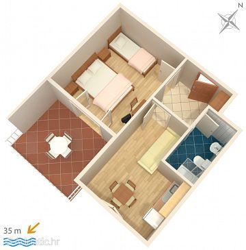 Apartment A-2666-b - Apartments Tučepi (Makarska) - 2666