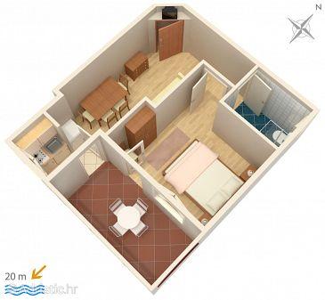 Apartment A-2670-a - Apartments Drašnice (Makarska) - 2670