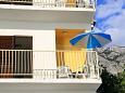 Balcony - Apartment A-2671-b - Apartments Bratuš (Makarska) - 2671