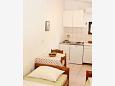 Bratuš, Dining room u smještaju tipa studio-apartment, WIFI.