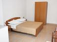 Makarska, Bedroom u smještaju tipa studio-apartment, WIFI.