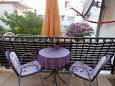 Balcony - Room S-2675-a - Apartments and Rooms Baška Voda (Makarska) - 2675