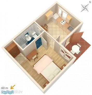 Apartment A-268-d - Apartments Orebić (Pelješac) - 268