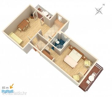 Apartment A-2681-c - Apartments and Rooms Slano (Dubrovnik) - 2681