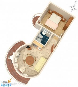 Apartment A-2686-c - Apartments Promajna (Makarska) - 2686