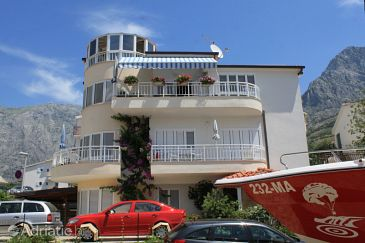 Property Promajna (Makarska) - Accommodation 2686 - Apartments near sea with pebble beach.