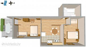 Apartment A-2691-a - Apartments Promajna (Makarska) - 2691