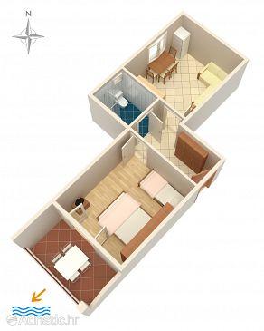 Apartment A-2694-b - Apartments Tučepi (Makarska) - 2694