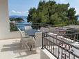 Terrace - Apartment A-2705-b - Apartments Drašnice (Makarska) - 2705