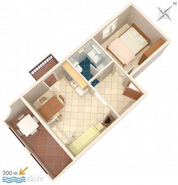 Apartment A-2709-d - Apartments Baška Voda (Makarska) - 2709