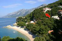 Апартаменты у моря Brela (Makarska) - 2713