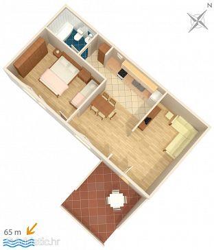 Apartment A-2714-a - Apartments Podgora (Makarska) - 2714