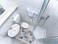 Podgora, Bathroom u smještaju tipa apartment, WIFI.