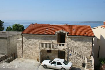 Property Brela (Makarska) - Accommodation 2716 - Apartments and Rooms with pebble beach.