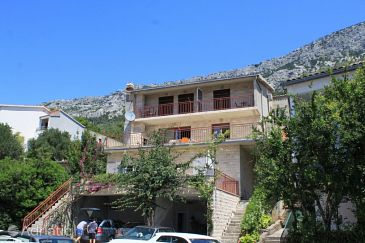 Property Brela (Makarska) - Accommodation 2717 - Apartments and Rooms with pebble beach.