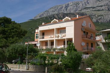 Property Tučepi (Makarska) - Accommodation 2721 - Apartments near sea with pebble beach.