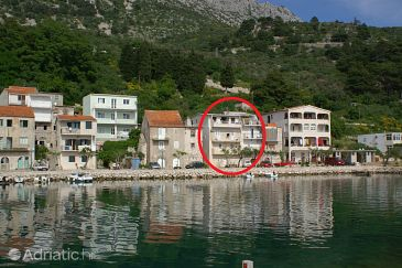 Property Drašnice (Makarska) - Accommodation 2722 - Apartments near sea with pebble beach.