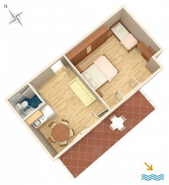 Apartment A-2731-a - Apartments Duće (Omiš) - 2731