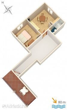 Apartment A-2735-b - Apartments Gradac (Makarska) - 2735