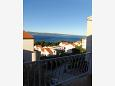 Duće, Balcony - view u smještaju tipa apartment, dopusteni kucni ljubimci i WIFI.
