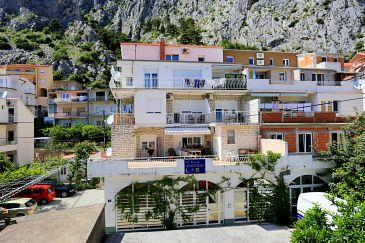 Obiekt Omiš (Omiš) - Zakwaterowanie 2738 - Apartamenty z piaszczystą plażą.