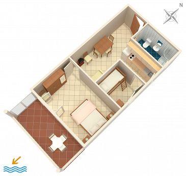 Apartment A-2754-c - Apartments Mimice (Omiš) - 2754