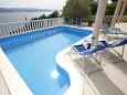 Courtyard Mimice (Omiš) - Accommodation 2754 - Apartments with pebble beach.