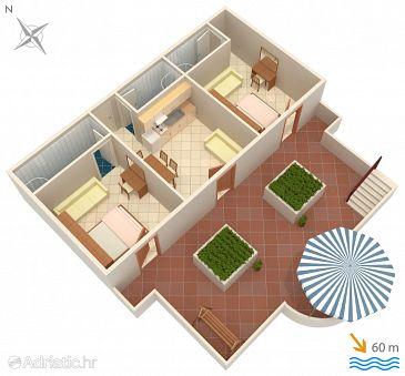 Apartment A-2756-a - Apartments Baška Voda (Makarska) - 2756