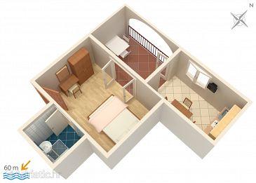 Apartment A-2756-c - Apartments Baška Voda (Makarska) - 2756