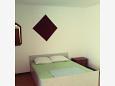 Duće, Sypialnia 1 w zakwaterowaniu typu apartment, WIFI.