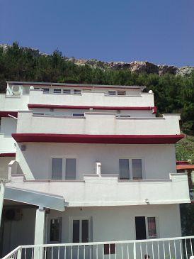 Duće, Omiš, Obiekt 2758 - Apartamenty przy morzu z piaszczystą plażą.