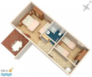 Apartament A-2760-a - Apartamenty Omiš (Omiš) - 2760