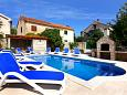 Courtyard Orebić (Pelješac) - Accommodation 277 - Vacation Rentals near sea with pebble beach.