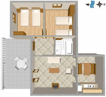 Apartment A-2774-a - Apartments Mimice (Omiš) - 2774