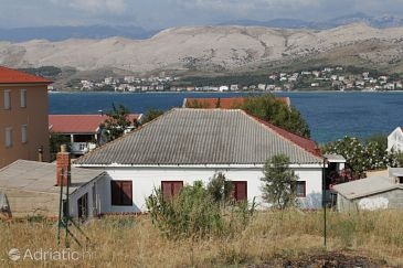 Property Pag (Pag) - Accommodation 278 - Rooms near sea with sandy beach.