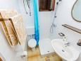 Bathroom - Studio flat AS-2802-a - Apartments Pisak (Omiš) - 2802