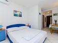 Bedroom - Studio flat AS-2802-b - Apartments Pisak (Omiš) - 2802
