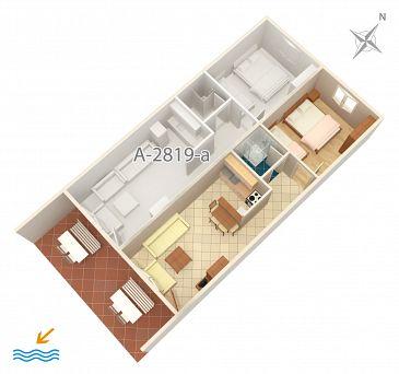 Apartment A-2819-b - Apartments Stanići (Omiš) - 2819