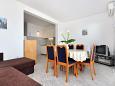 Pisak, Dining room u smještaju tipa apartment, dostupna klima, dopusteni kucni ljubimci i WIFI.
